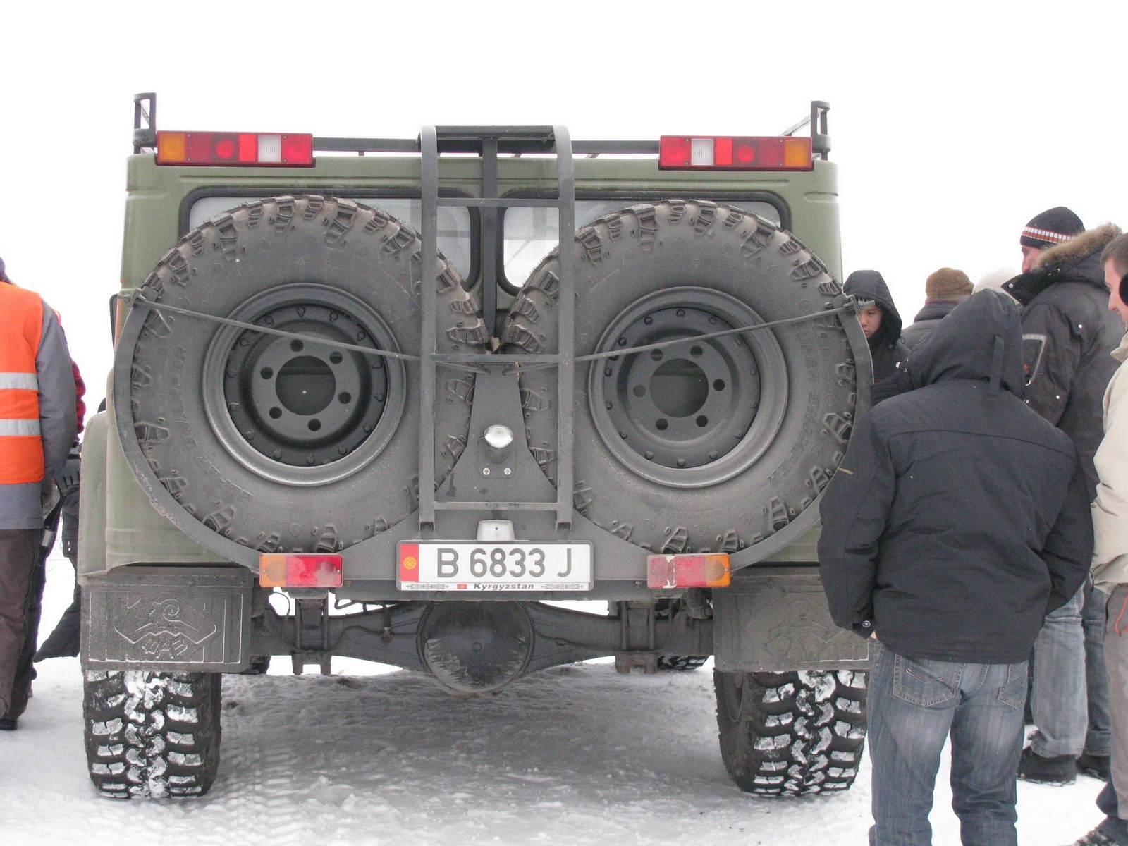 2005. БАРХАН ТАЙГАН. Кыргызстан. Бишкек Автор неизвестен. Агрегатная база  ГАЗ-66