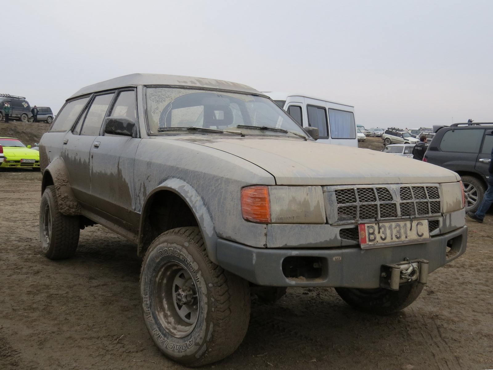 2000 (?). САМАВТО. Кыргызстан. Бишкек. Автор неизвестен. Агрегатная база Ford Granada