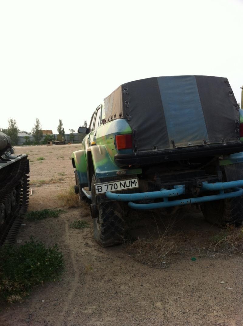 1990 (?). САМАВТО. Казахстан. Енбекшиказахский район. Автор неизвестен. Агрегатная база ГАЗ-31029