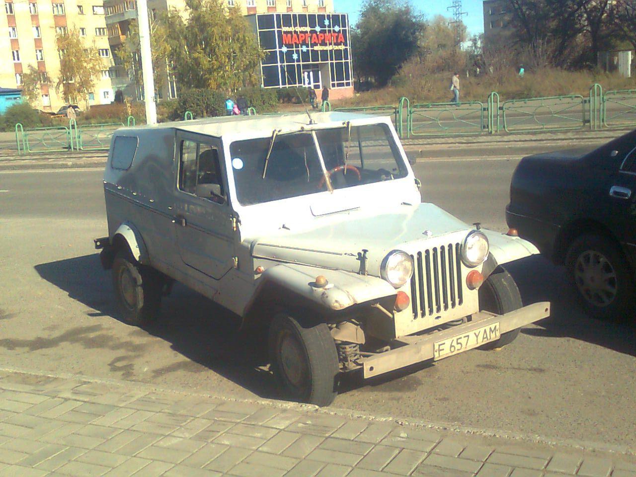 1980 (?). САМАВТО. Казахстан. Усть-Каменогорск. Автор неизвестен