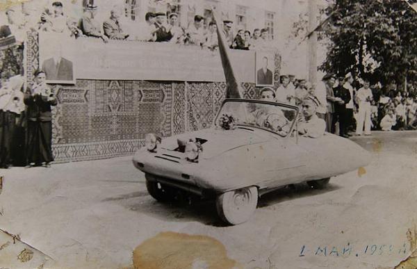 1958. АВТОМОБИЛЬ ГУЛКОМ-АГА. Узбекистан (СССР). Автор Гулком-Ага