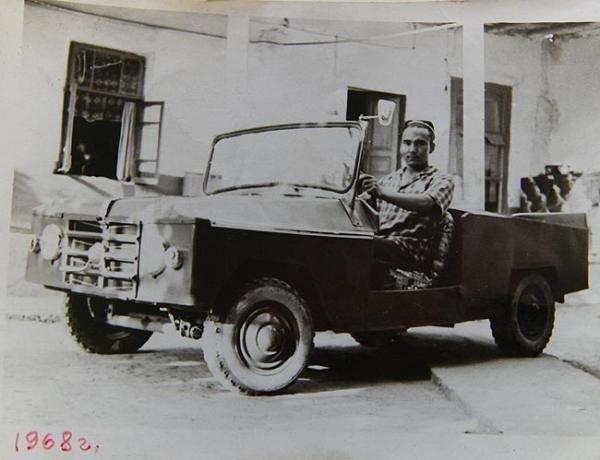1968. ВЕЗДЕХОД ГУЛКОМ-АГА. Узбекистан (СССР). Автор Гулком-Ага