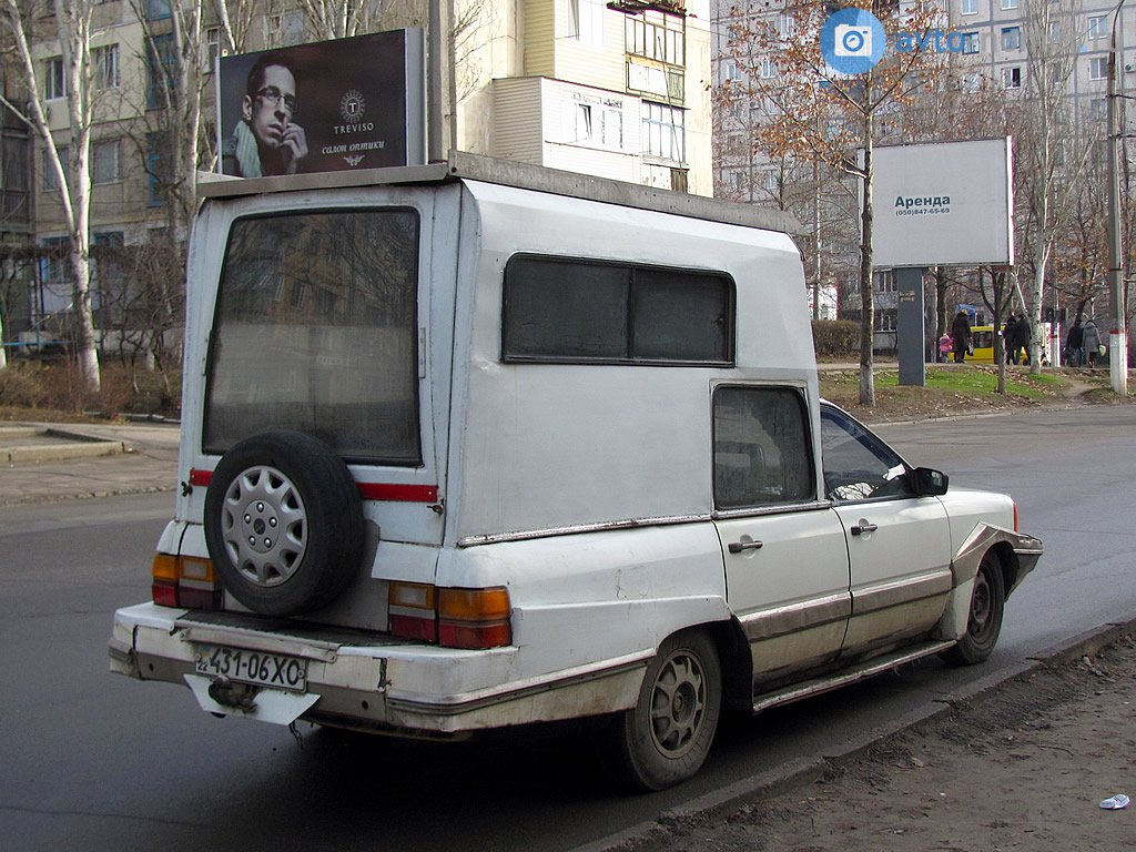 1990 (?). САМАВТО. Украина. Херсон. Автор неизвестен. Агрегатная база Ауди-100
