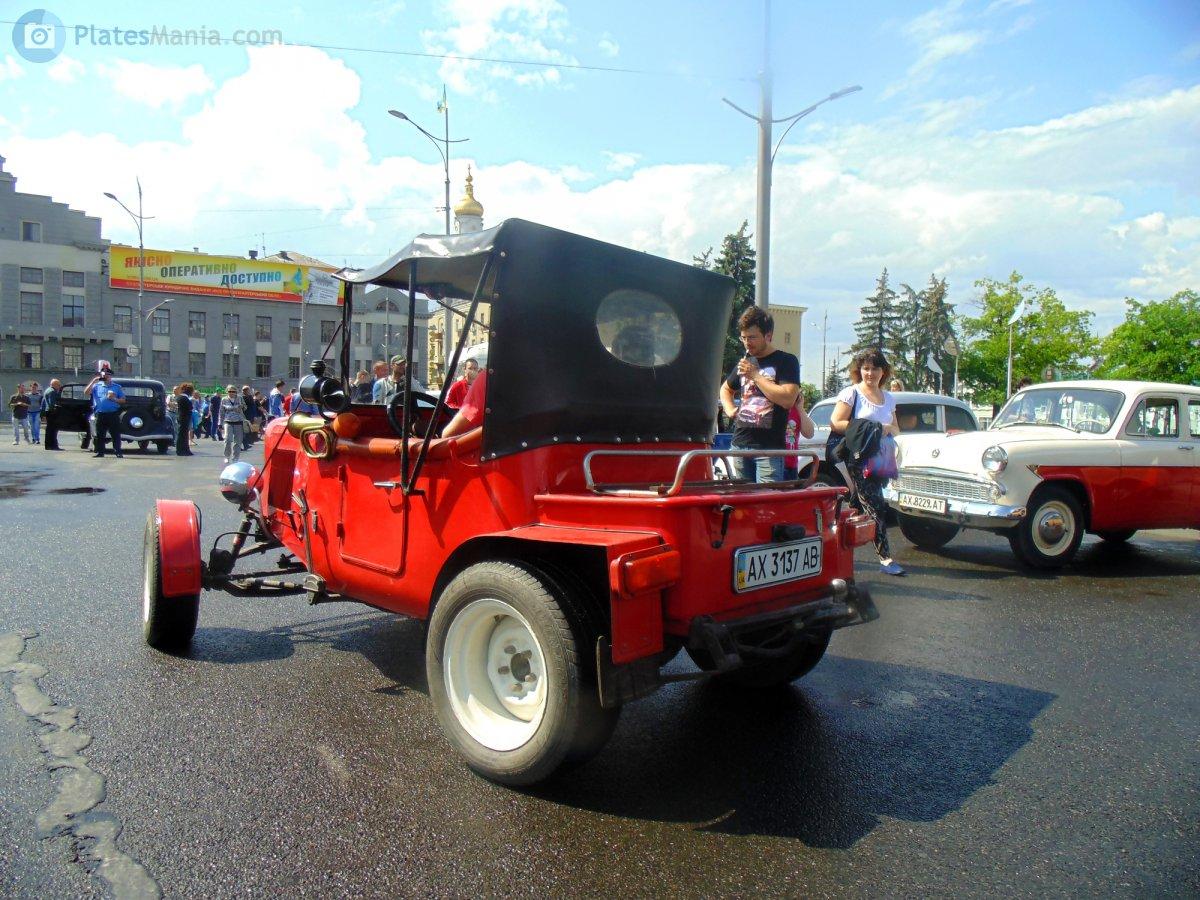 1990 (?). САМАВТО. Украина. Автор неизвестен