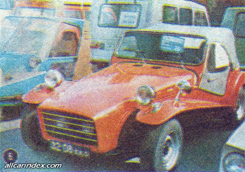 1983. ЛОТОС. Украина (СССР). Автор Н.Чернец. Агрегатная база ВАЗ-2101