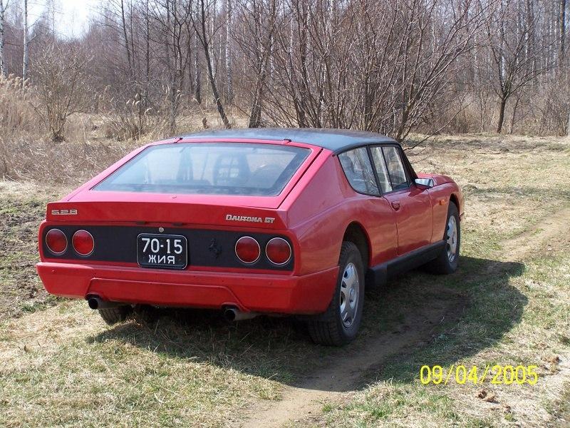 2005. Dautona GT. Украина. Автор неизвестен