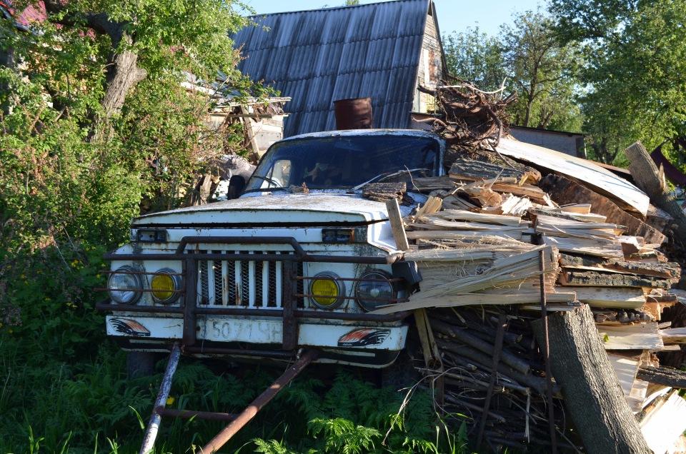 1980 (?). САМАВТО. Украина. Чернигов. Агрегатная база ГАЗ-20. Фото 2017