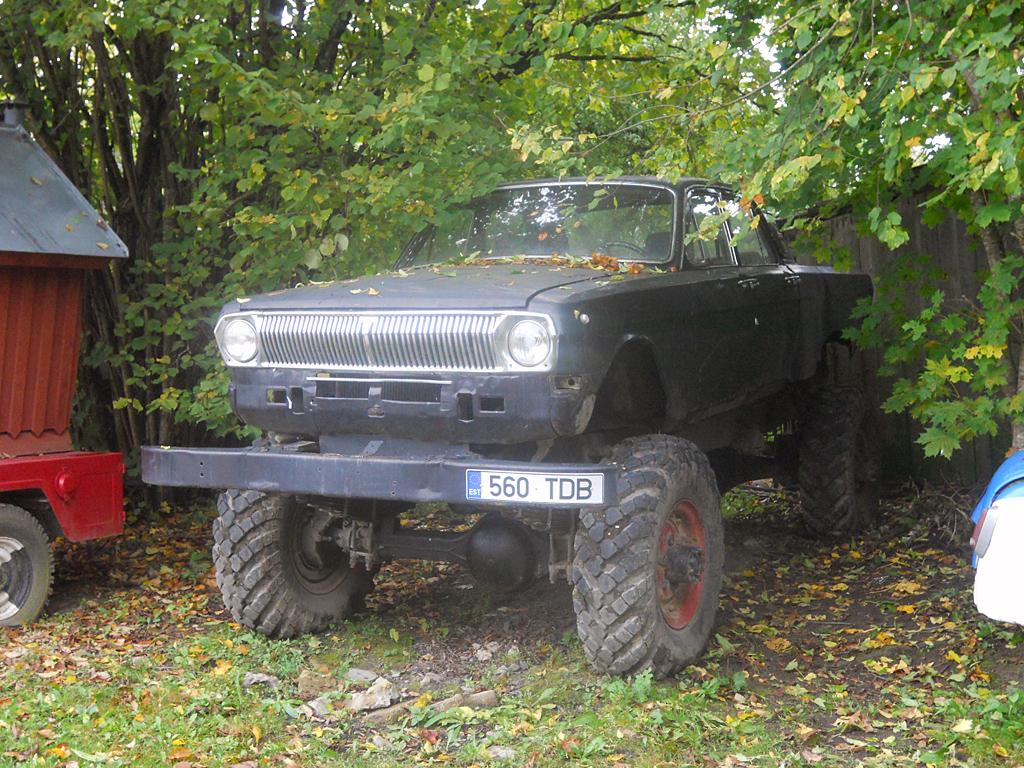1990 (?). САМАВТО. Эстония. Ярва-Яани. Автор неизвестен. Агрегатная база ГАЗ-24