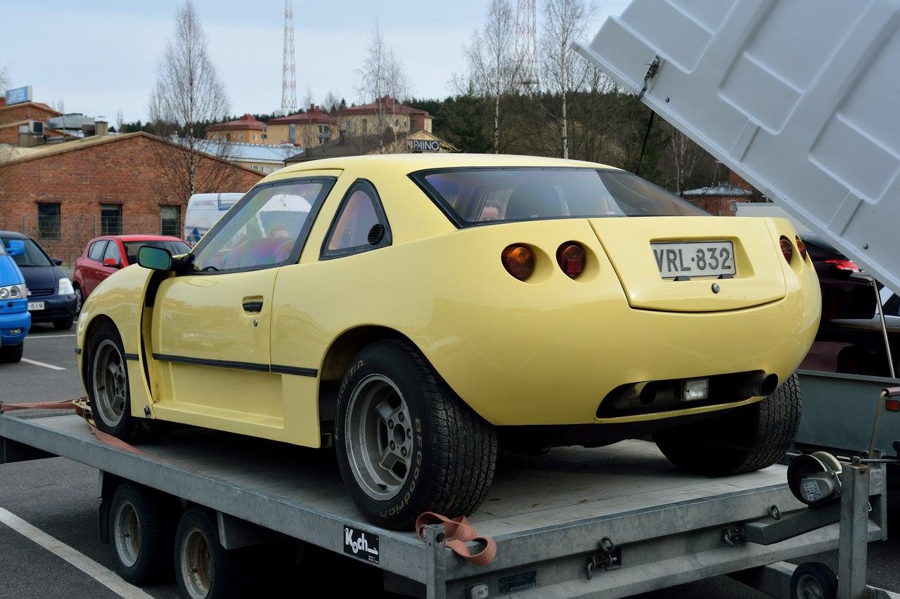 1980. САМАВТО. Финляндия. Лахти. Автор неизвестен. Агрегатная база BMW-528i