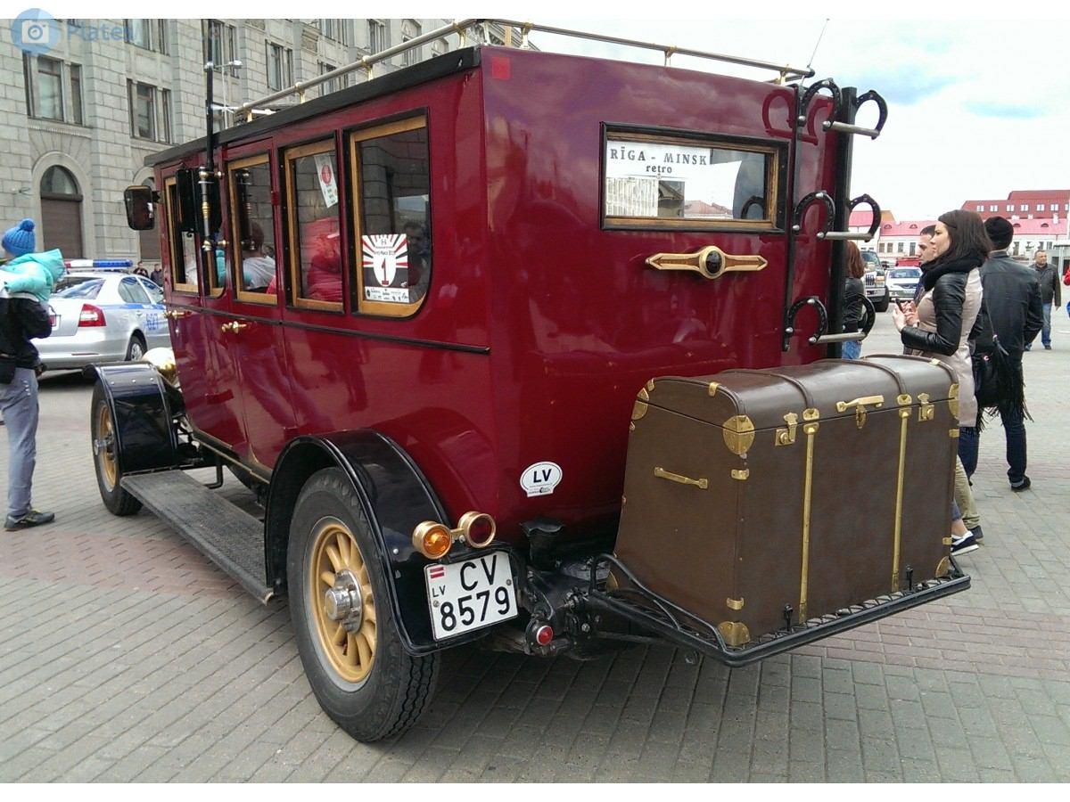 2000 (?). РЕПЛИКАР Mercedes Simplex 60PS, 1904 г.в. Латвия. Рига. Автор неизвестен