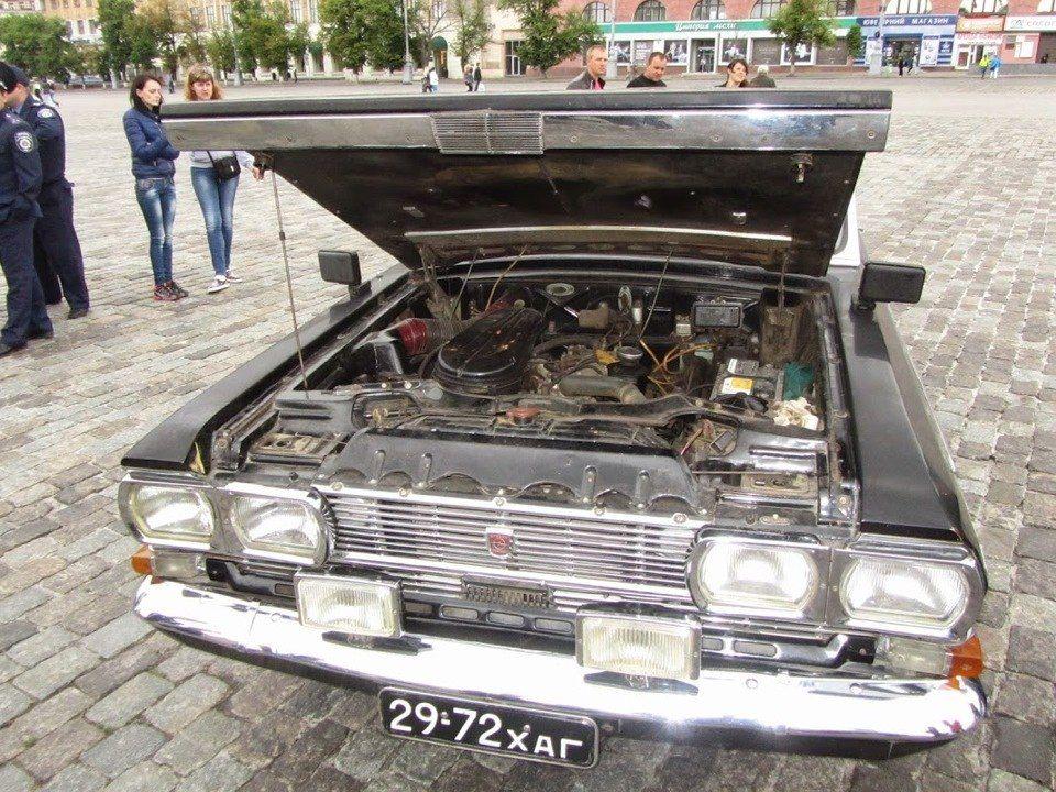 1972. САМАВТО. Украина (СССР). Харьков. Автор неизвестен. Агрегатная база Опель Адмирал