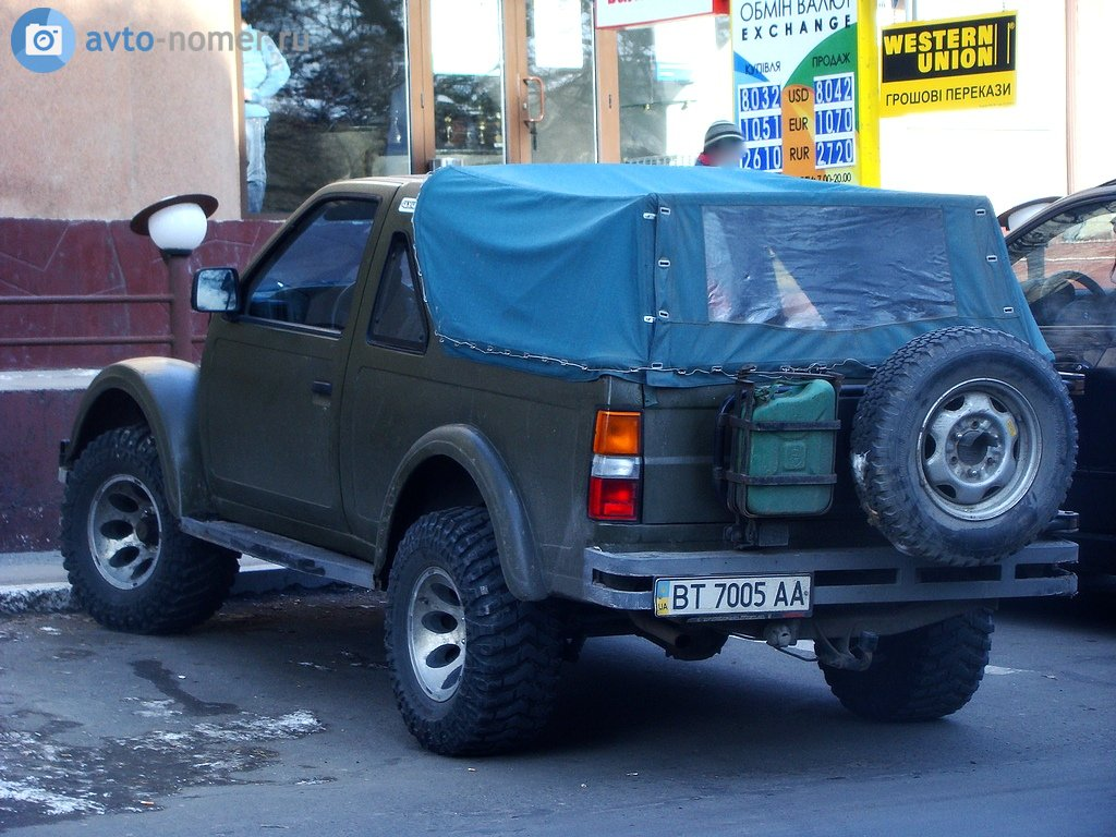 2000 (?). САМАВТО. Украина. Херсон. Автор неизвестен. Агрегатная база ГАЗ-69