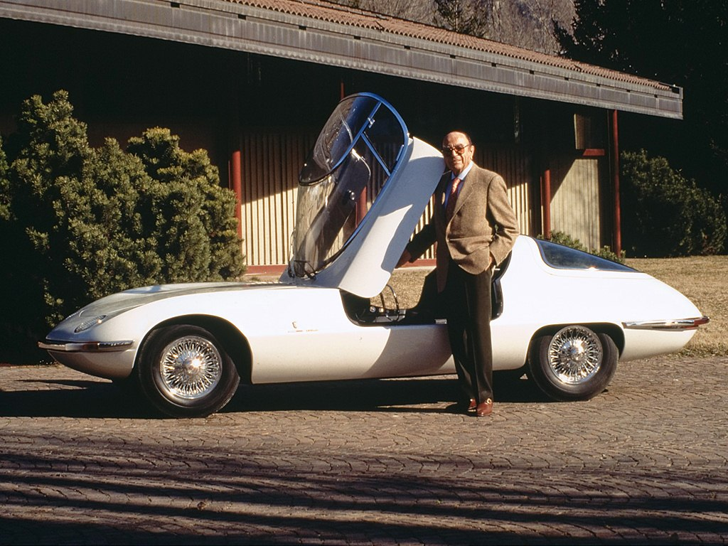 1963. Chevrolet Corvair Testudo design by Bertone