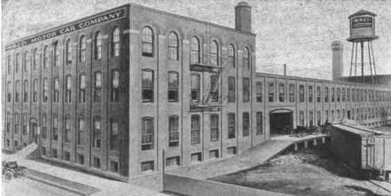 1910 Photo of the KRIT factory in Detroit