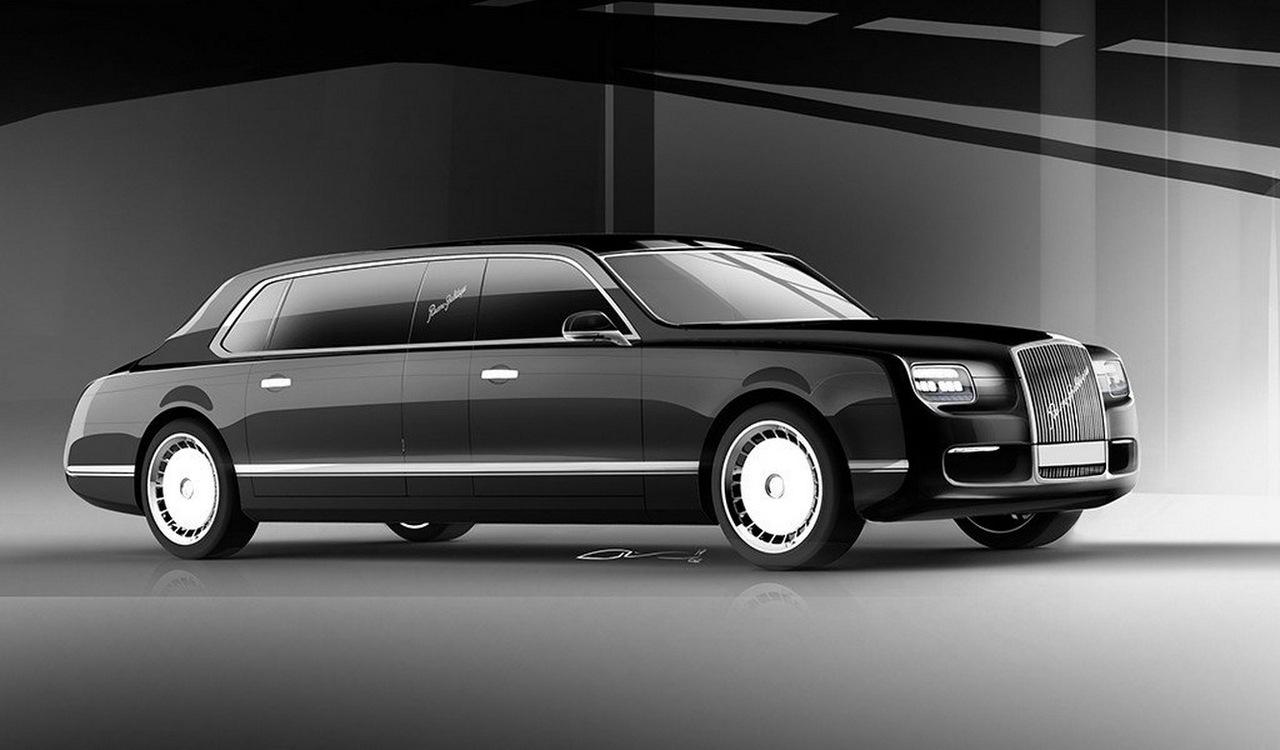 2017. Aurus Senat Limousine