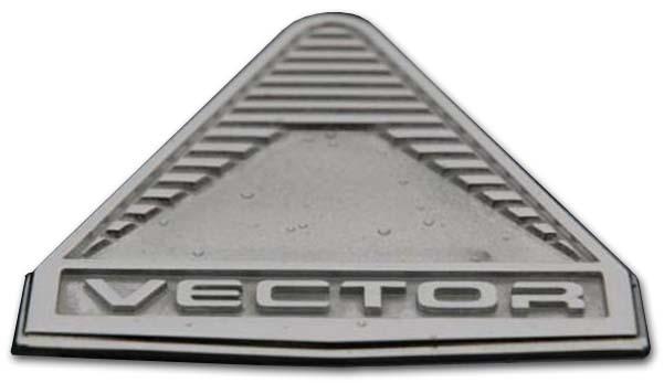 1990. Vector (hood emblem)