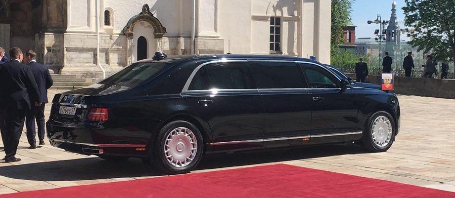2018. Aurus Senat Limousine (2)