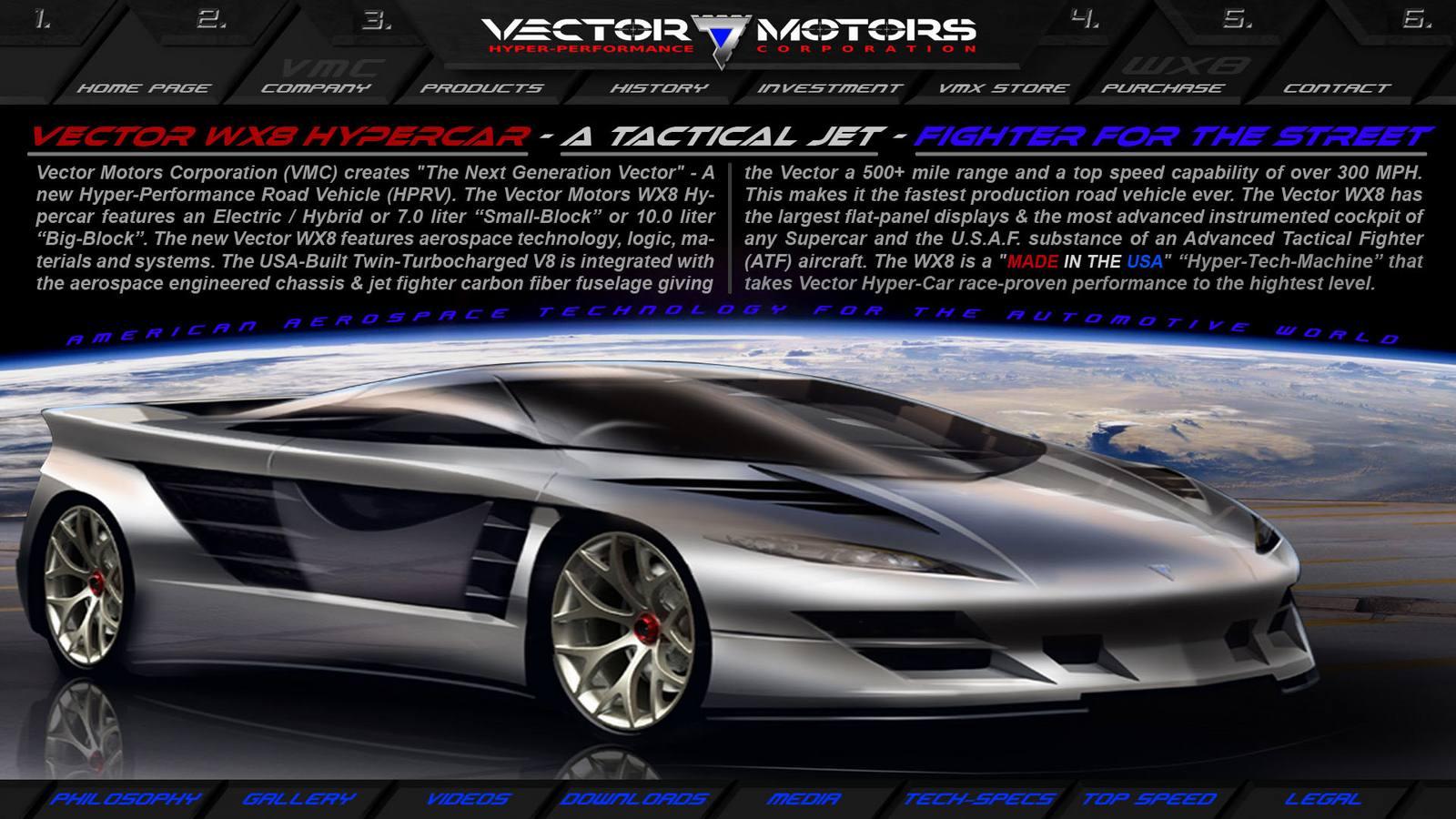 2016. Vector WX8 — эскиз