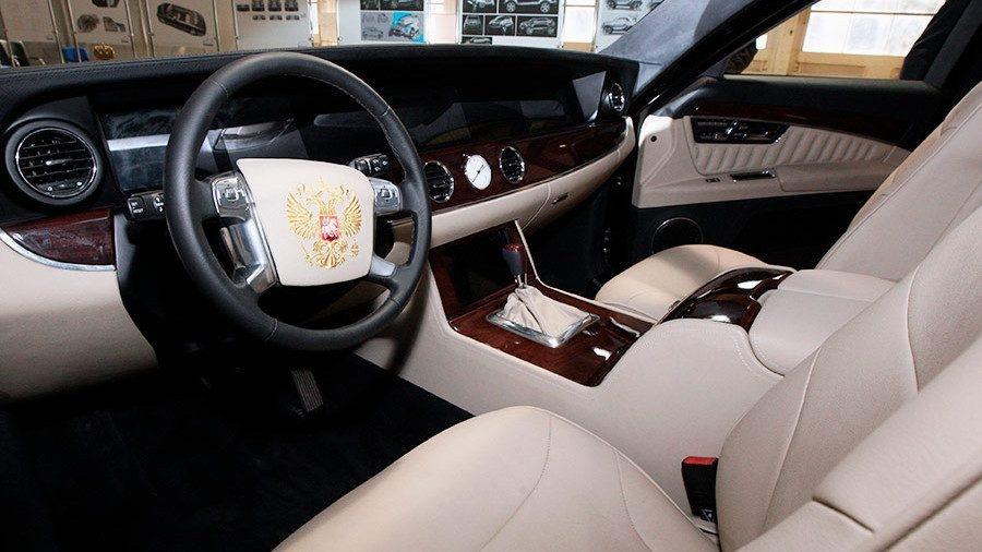 2018. Aurus Senat Limousine