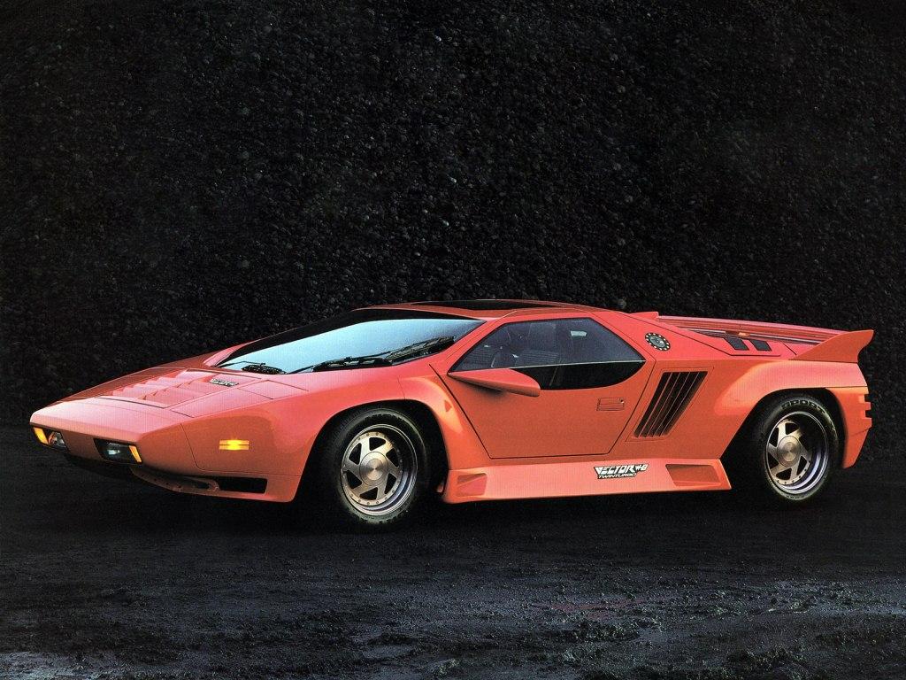 1990. Vector W8 Prototype