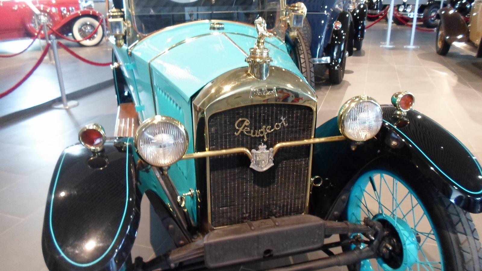 1924-1925. Peugeot 172 BC Quadrilette