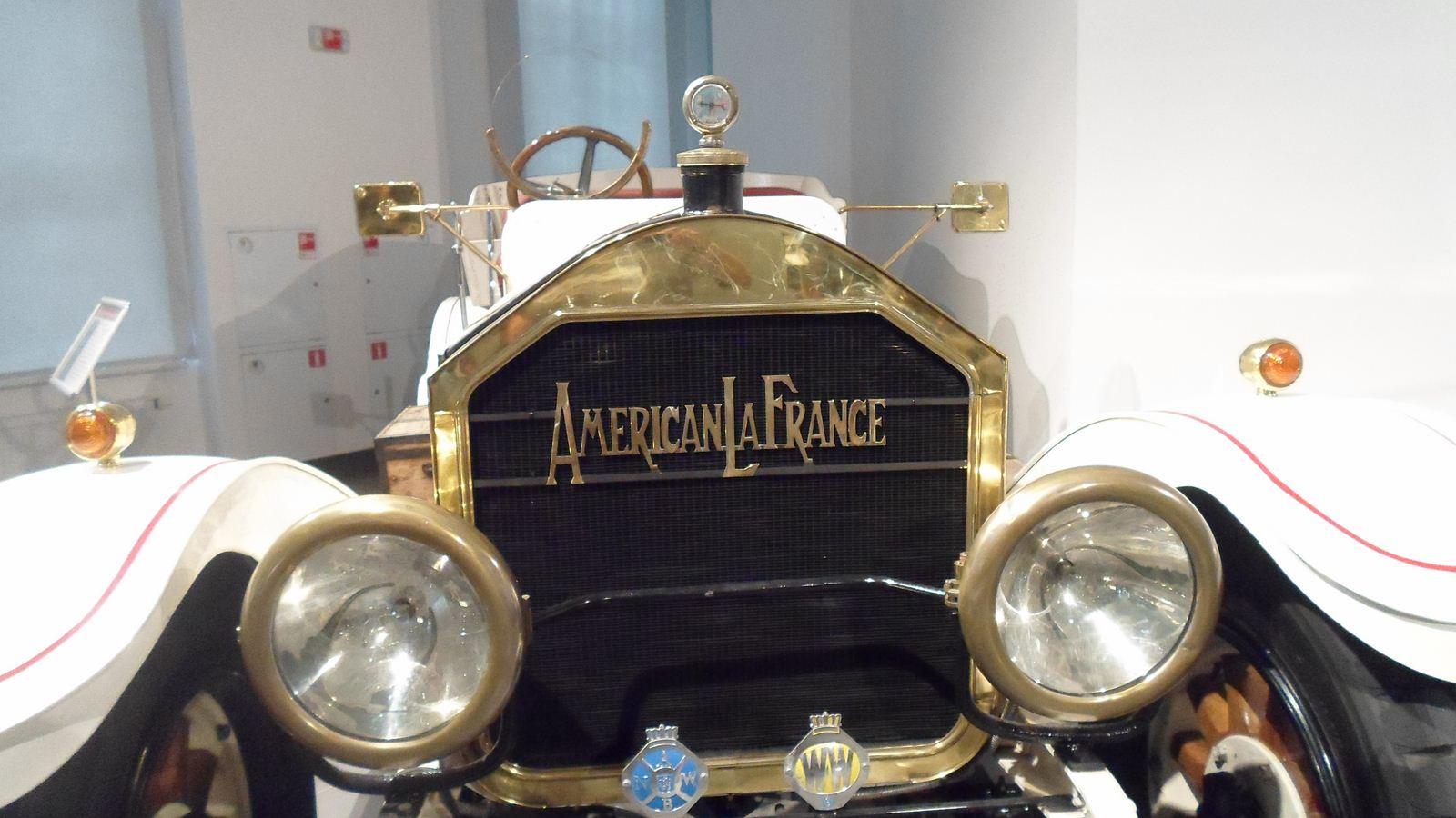 1917. American La France Type 12 Tourer