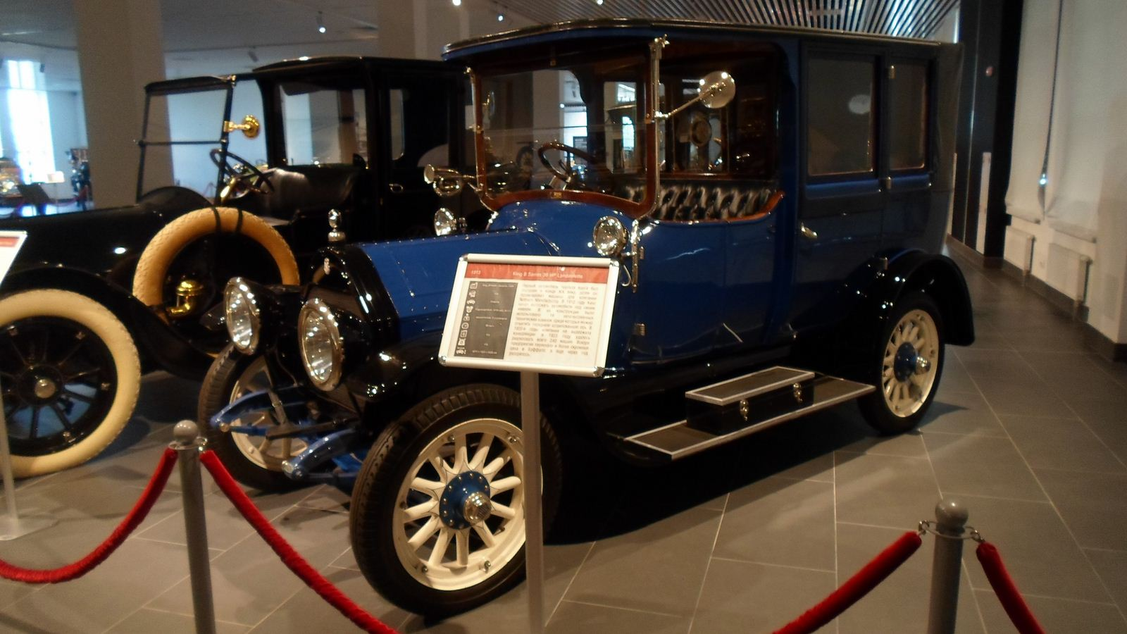 1913. King B Series 36HP Landaulette
