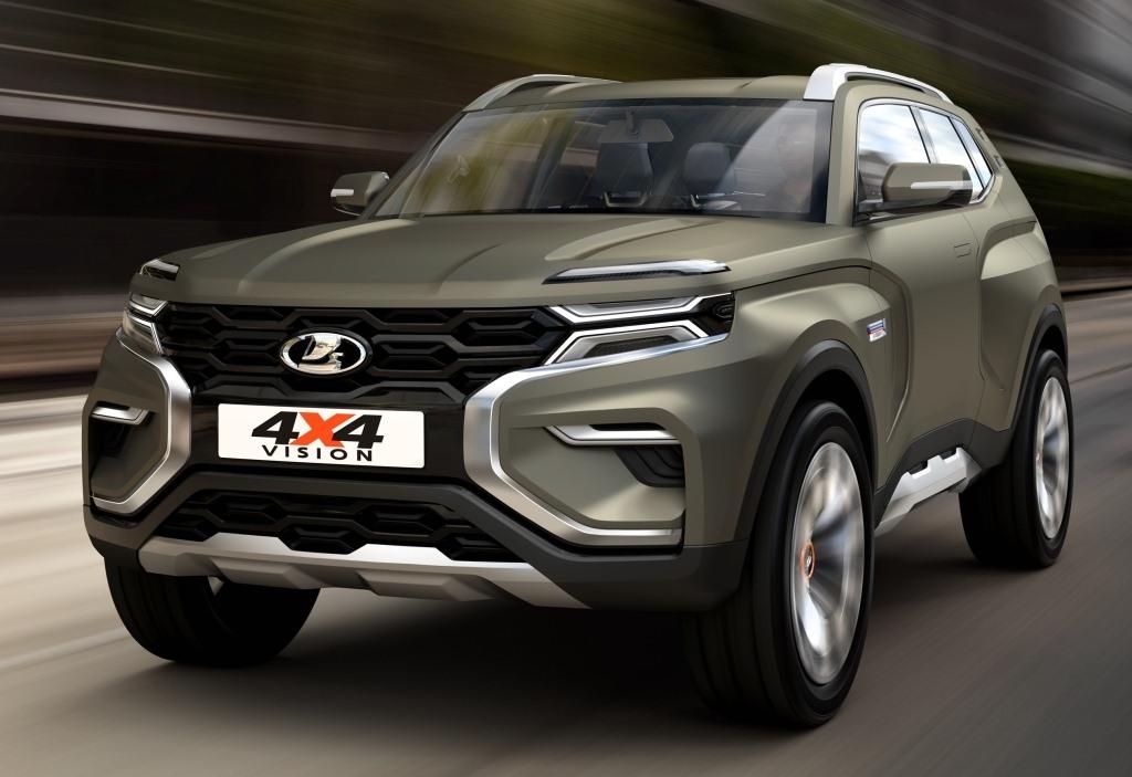 2018. Lada 4x4 Vision (Concept)