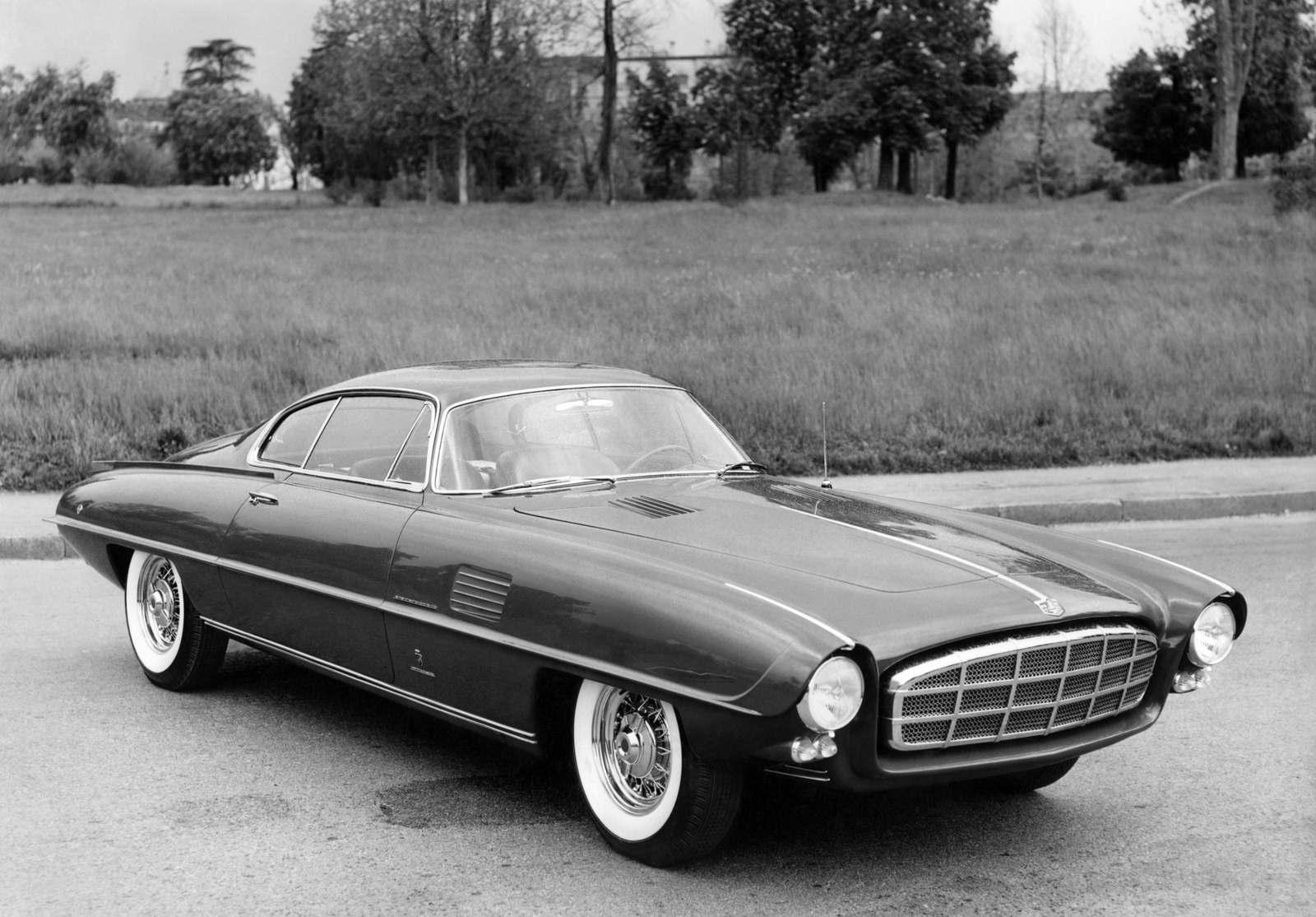 1955. DeSoto Adventurer II Concept (Ghia)