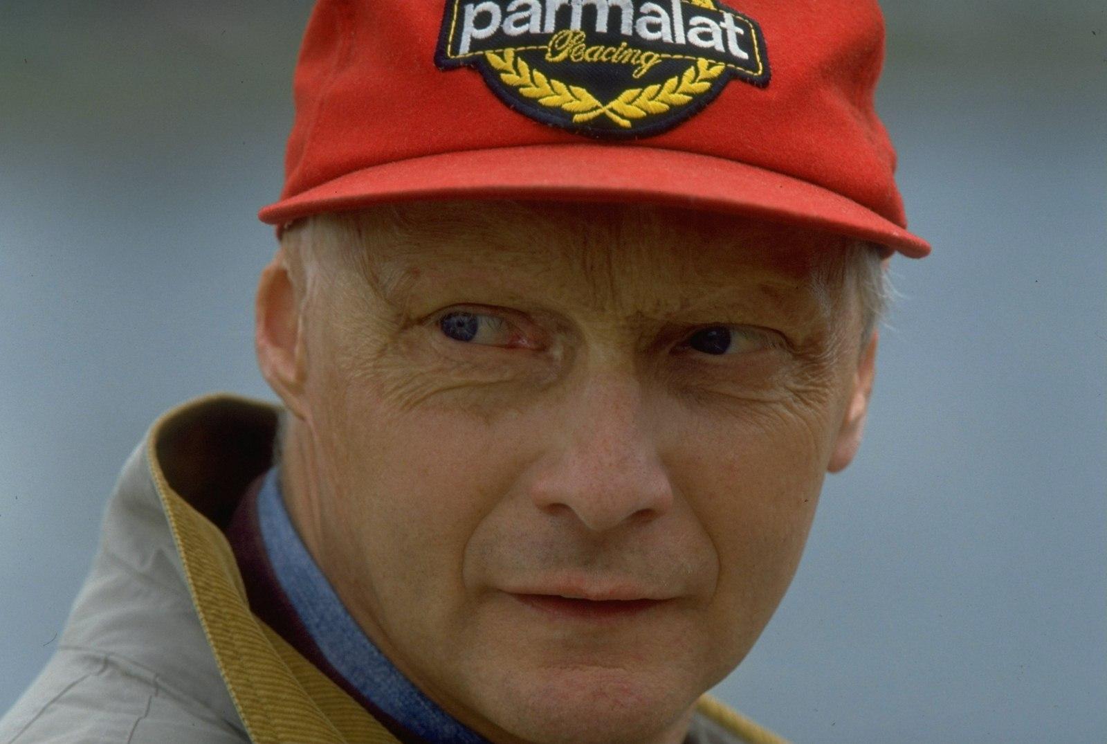 1995:  Portrait of Ferrari Team Manager Niki Lauda of Austria. Mandatory Credit: Pascal  Rondeau/Allsport