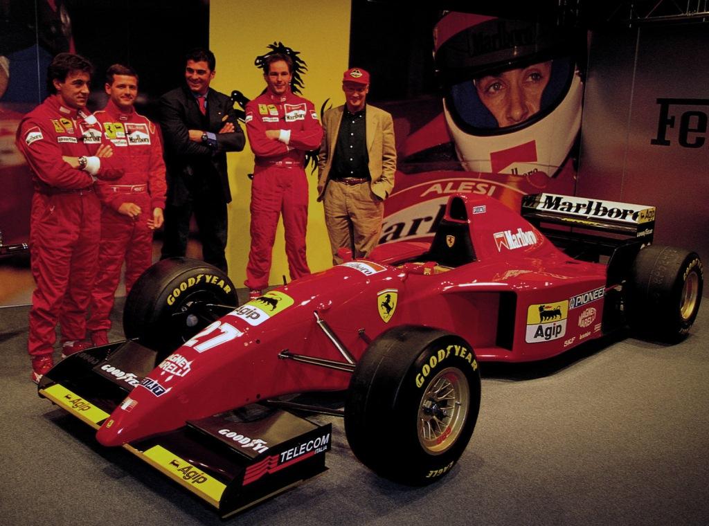 Ferrari 412 T2, Жан Алези, Никола Ларини, Герхард Бергер, Ники Лауда