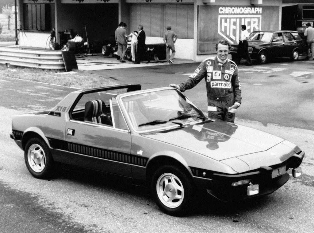 Fiat X1_9 Série speciale, Ники Лауда дизайн Bertone
