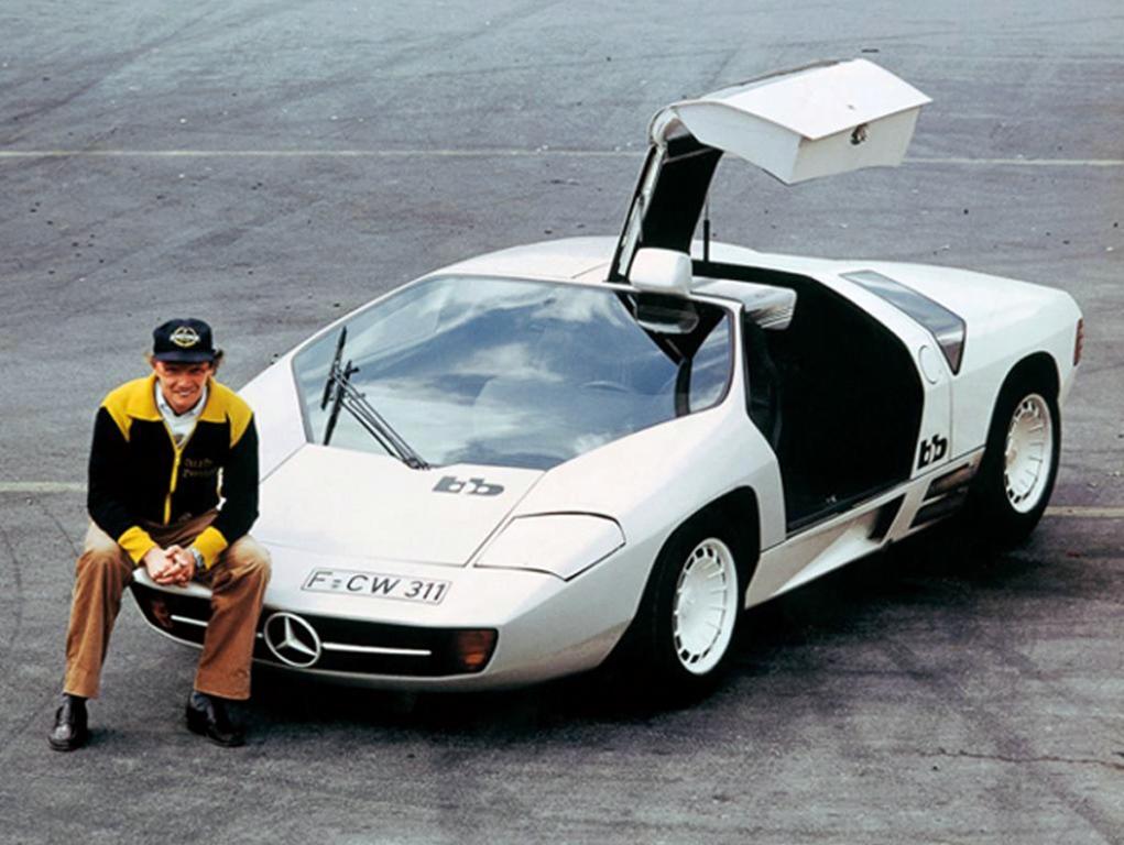 Mercedes-Benz Schulz Studie CW311, Ники Лауда