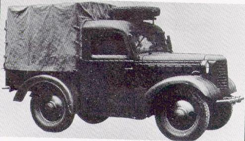 1941-1944. Kurogane Pikup