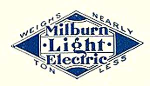 1914. Milburn Light Electric (1914 logo)
