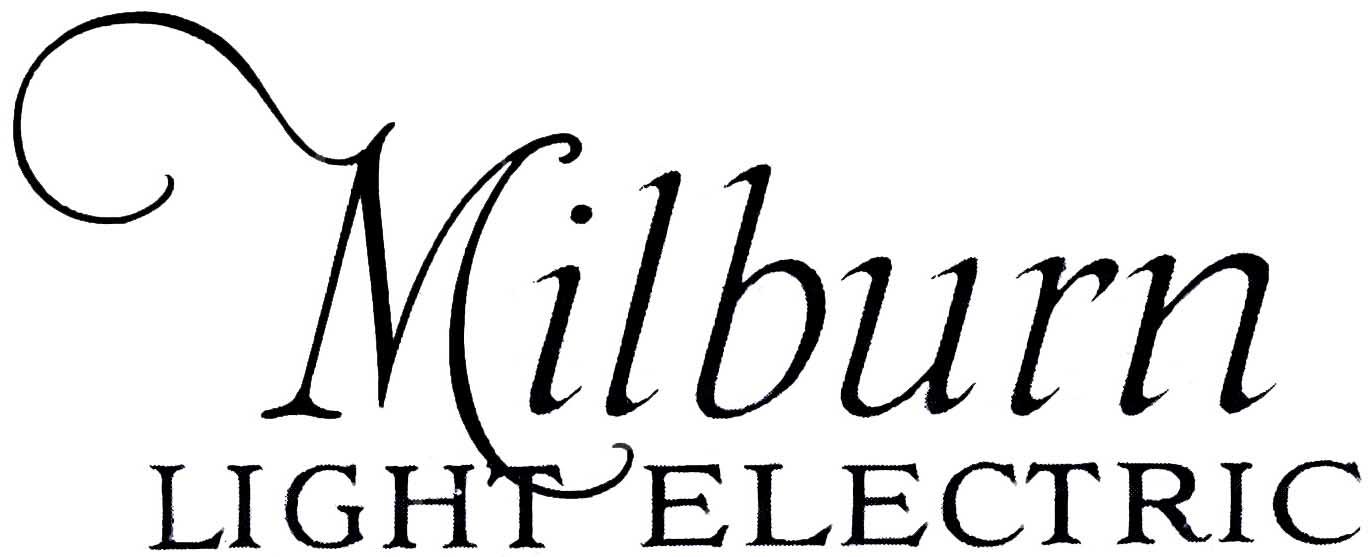 1917. Milbun Light Electric (script logo)