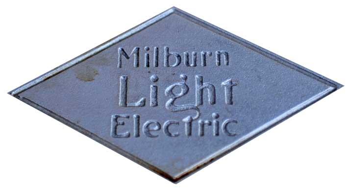 1922. Milbun Electric Model 27L (emblem)