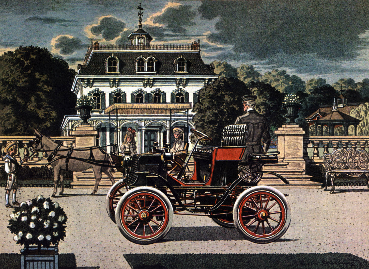 1901 Columbia - Illustrated by Leslie Saalburg