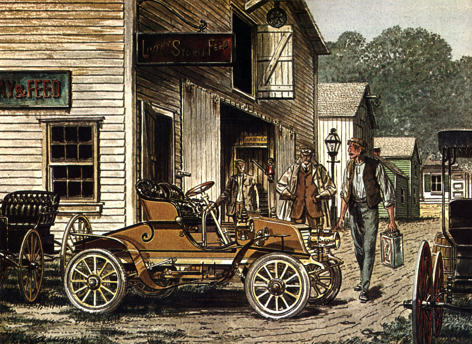 1904 Winton - Illustrated by Leslie Saalburg