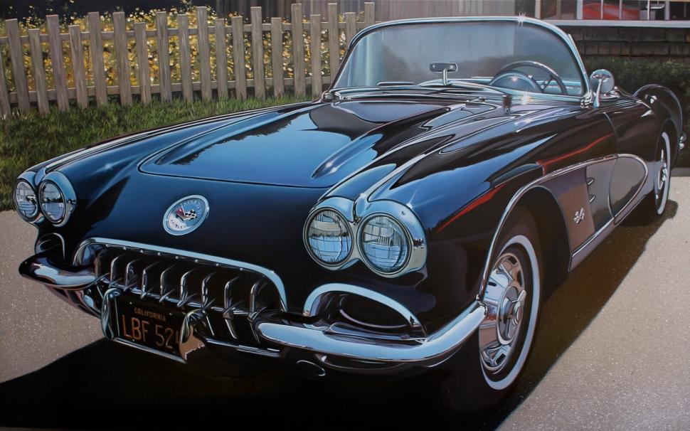 Chevrolet Crvette 1958