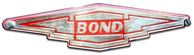 1956-1958. Bond Minicar Mark E (hood emblem)