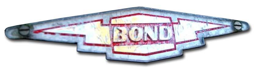 1958-1963. Bond Minicar Mark F (hood emblem)