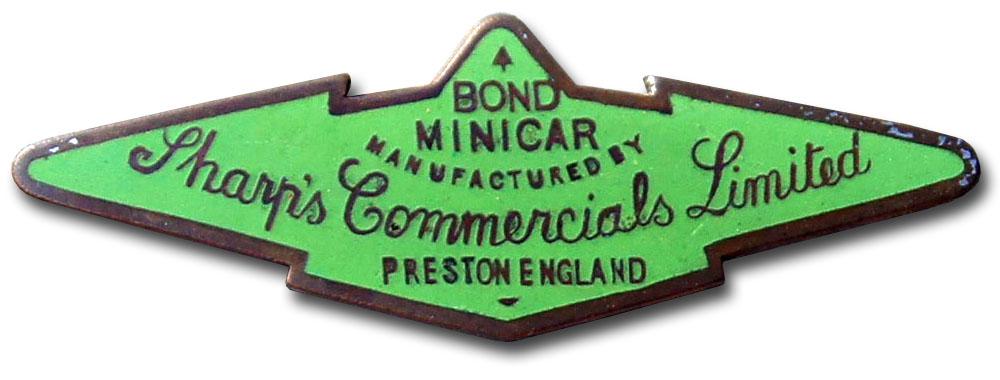 1958. Bond Cars Ltd. (emblem)