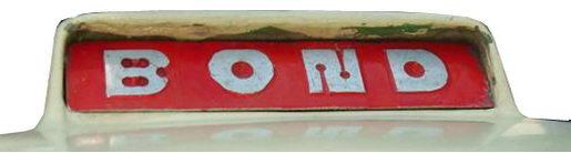 1964. Bond Cars Ltd. (hood emblem)