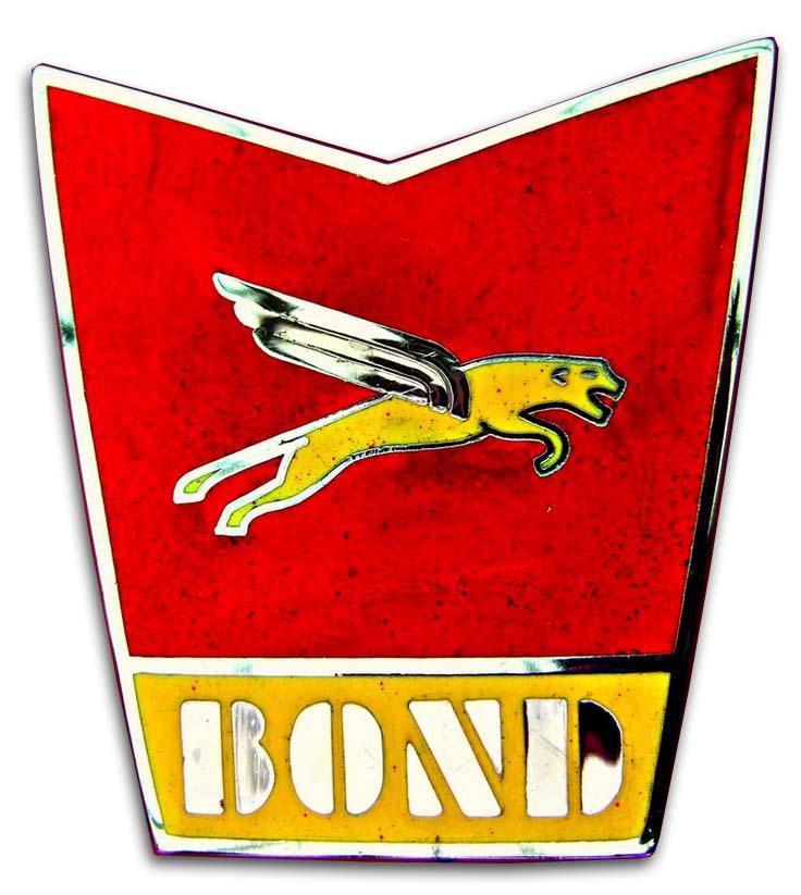 1965. Bond Cars Ltd. (hood emblem)