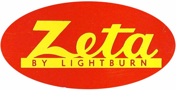 1963. Harold Lightburn and Co. Ltd., Zeta model logo