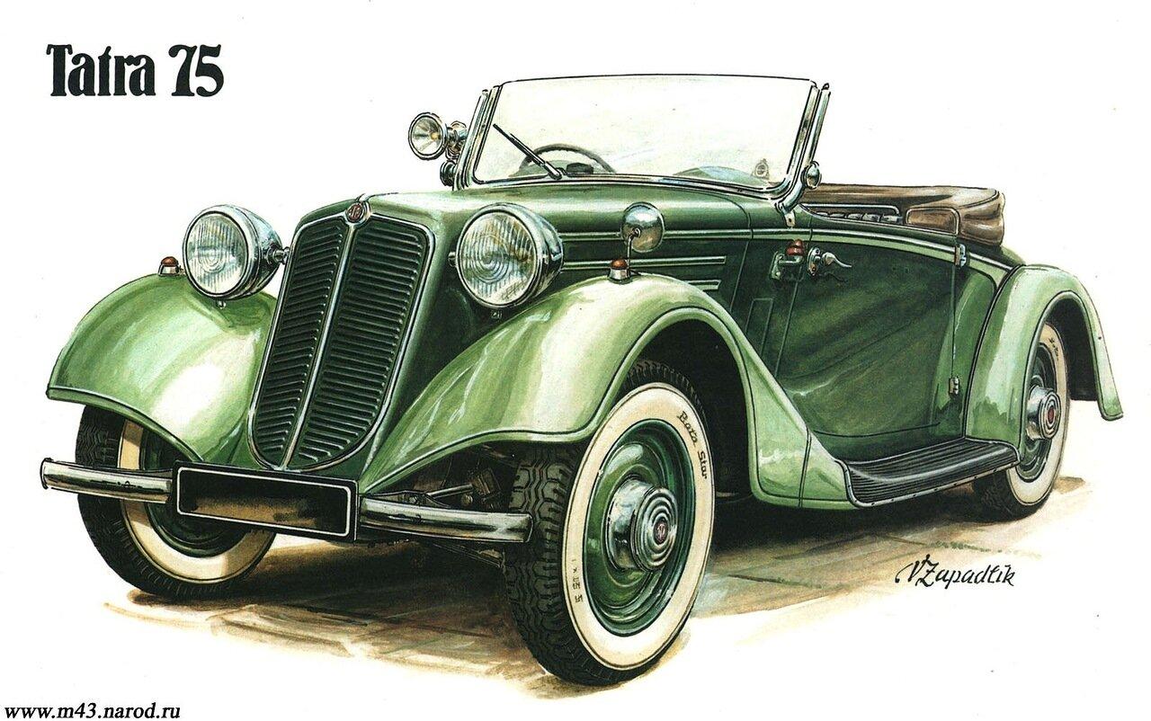 1938. Tatra 75