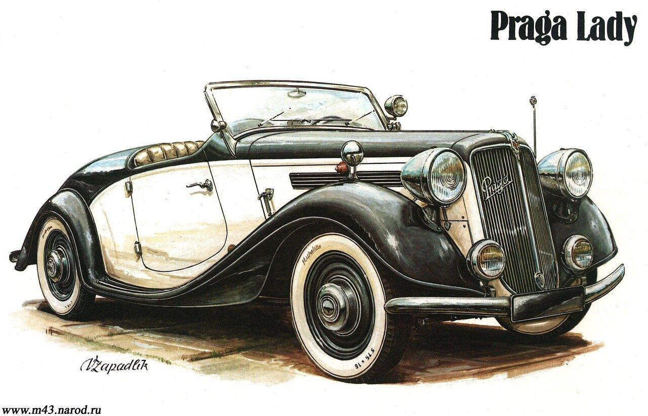 1936. Praga Lady