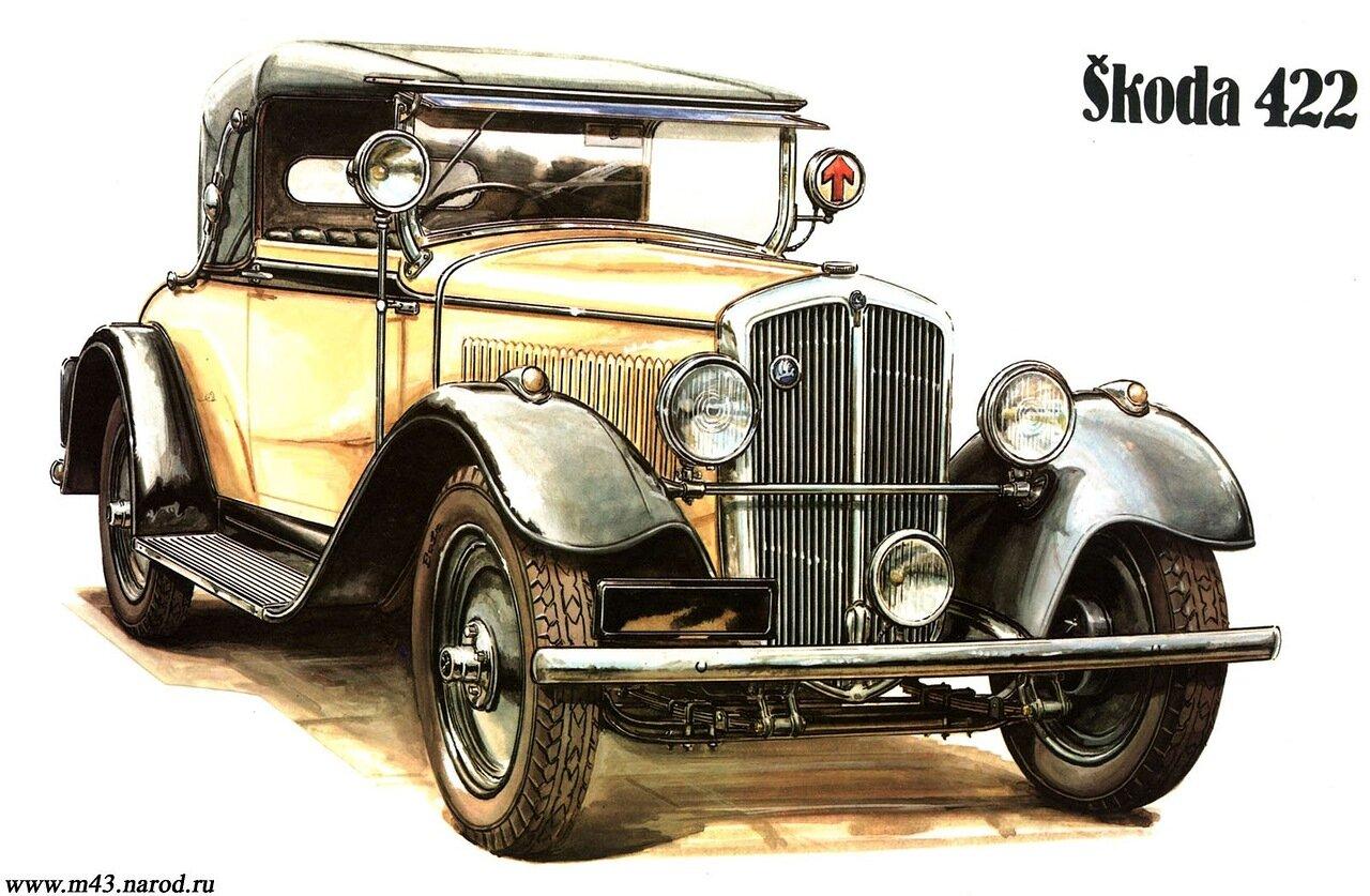 1932. Skoda 422