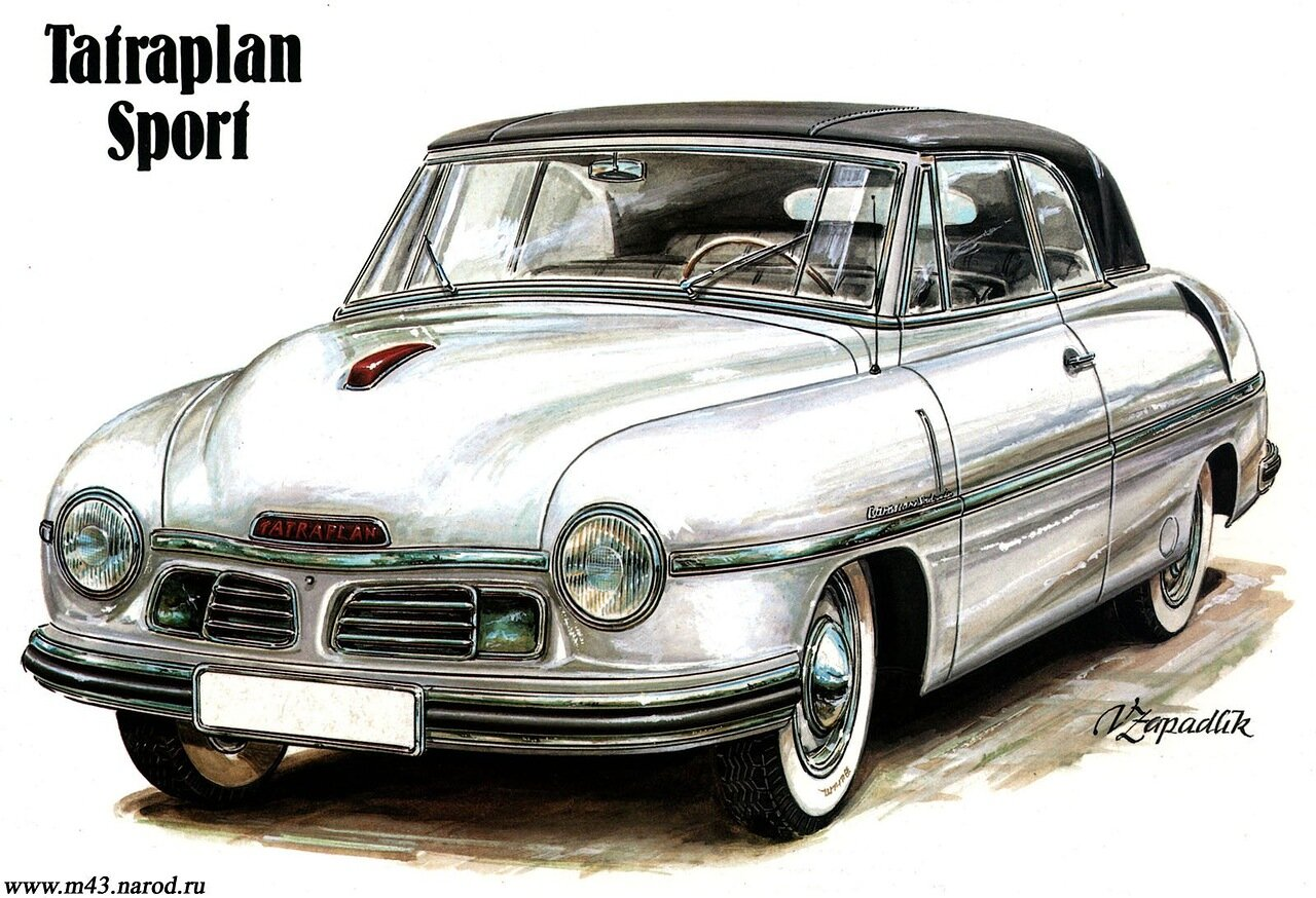 1949. Tatraplan Sport